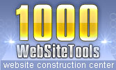 1000WebsiteTools.net - Webmaster resources and website tools